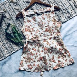 Anthropologie Odille Floral Country Tank (2)